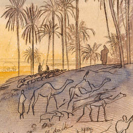 Colosaneh, Five-forty-five - Six p.m., January 3, 1867 - Edward Lear