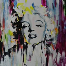 Richard Garnham - Colour Burst Marilyn