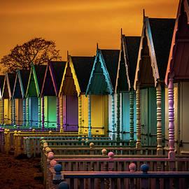 Joe Rey - Colourful Beach Huts