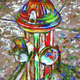 Lanjee Chee - Colourful hydrant