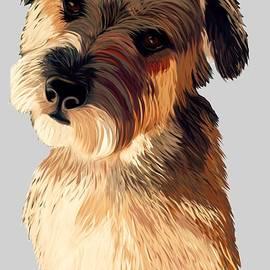 Karen Harding - Colourful Little Terrier