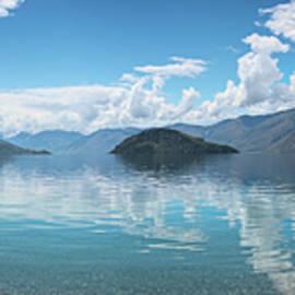 Joan Carroll - Colquhouns Beach Wanaka New Zealand Panorama