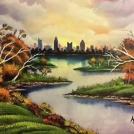 Alfred Stringer - Columbus Ohio Skyline