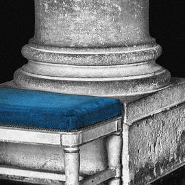 Column - Bench - Versailles by Nikolyn McDonald