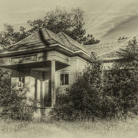 Community Center II in Sepia by Harry B Brown