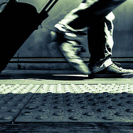 Commuter during the Rush Hour by Srinivasan Venkatarajan
