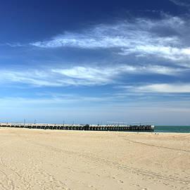 Coney Island Beach by Nicola Nobile