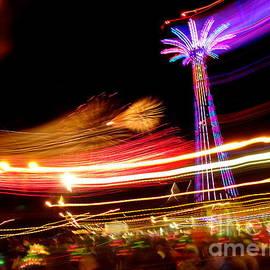 Coney Island New Years Eve #1 by Ed Weidman