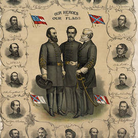 Confederate Generals of The Civil War by War Is Hell Store