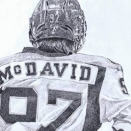 CONNOR McDAVID by Paul Smutylo