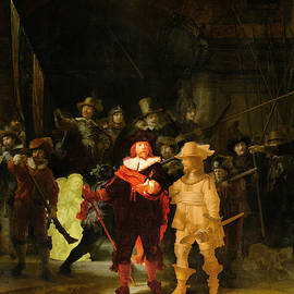 Contemporary 1 Rembrandt by David Bridburg