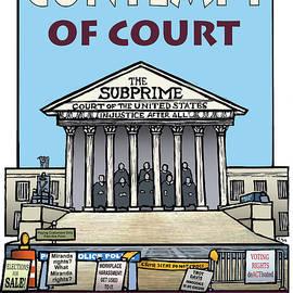 Contempt of Court by Ricardo Levins Morales