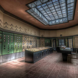 Control room by Nathan Wright