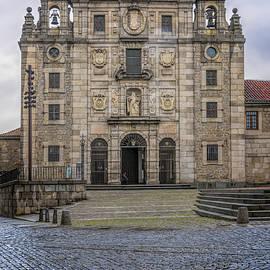 Convent Of St Teresa Avila Spain by Joan Carroll