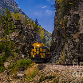 Conway Scenic Railroad Notch Train. by New England Photography