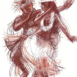Cook Islands Pas-de-deux by Judith Kunzle
