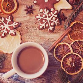 Cookies and tea by Angela King-Jones