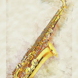 Cool Saxophone by Anthony Murphy