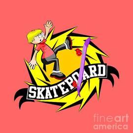 Cool Skateboard by Daniel Ghioldi