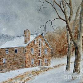 Cooper Gristmill in Winter by Denise Harty