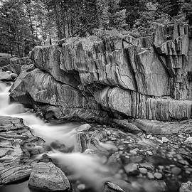 Coos Canyon Black and White - Rick Berk