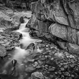 Coos Canyon Maine Black and White - Rick Berk