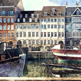 Luisa Vallon Fumi - Copenhagen, Nyhavn harbor