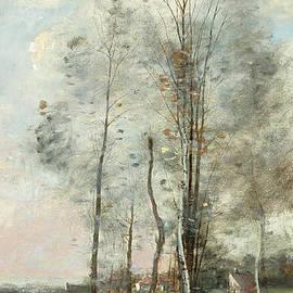 Jean Baptiste Camille Corot - Copse of Alder and Birch