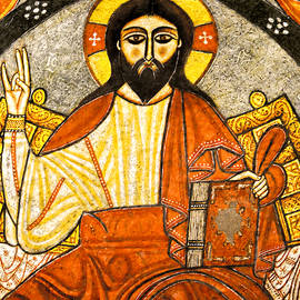 Nigel Fletcher-Jones - Coptic Christ Pantocrator