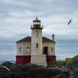 Coquille Lighthouse II by Steven Clark