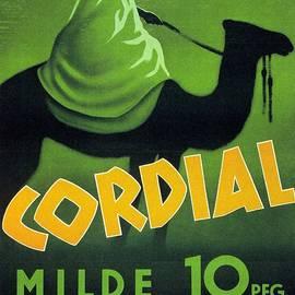 Cordial Milde Orient - Bedouin On a Camel - Retro travel Poster - Vintage Poster - Studio Grafiikka