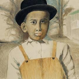 Jayne Somogy - Corduroy Overalls,1942 -- Retro Portrait of African-American Child