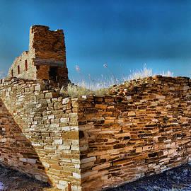 Corner of the Gran Quivira Ruins by Jeff Swan