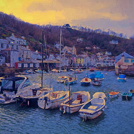 Cornish Fishing Village by Paul Gulliver