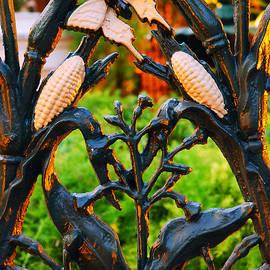 Cornstalk Fence by James Kirkikis