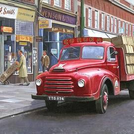Mike  Jeffries - Corona drinks lorry.