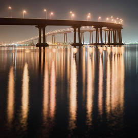 William Dunigan - Coronado Bridge Reflection