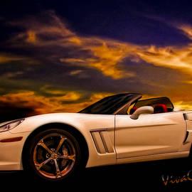 Corvette Sunset by Chas Sinklier