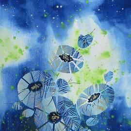 Louise Adams - Cosmic Flowers