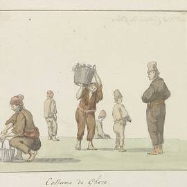 Louis Ducros - Costumes of Gozo island, Louis Ducros, 1778 c