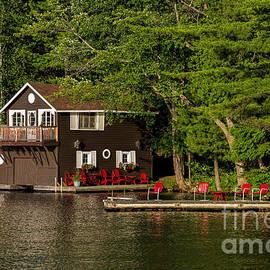 Les Palenik - Cottage and Boathouse