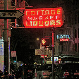 Bonnie Follett - Cottage Market Liquors on Bust St