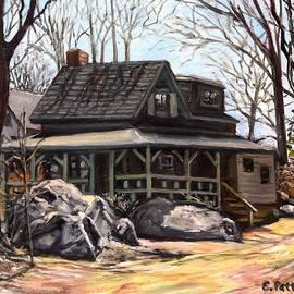 Eileen Patten Oliver - Cottage on Marmion Way, Rockport, MA