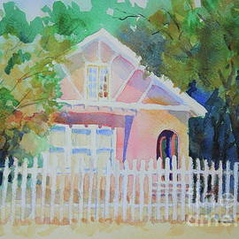 Cottage on Park Street by Marsha Reeves