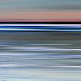 Cotton Candy Beach Triptych Right by Evie Carrier