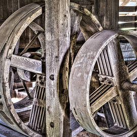 Cotton Gin Pulleys by Andy Crawford