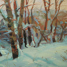Cottonwood Grove by Steve Henderson