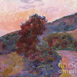 Coucher de soleil a Giverny, 1886 - Claude Monet