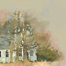 Country Church - Gordonsville Va by Paulette B Wright