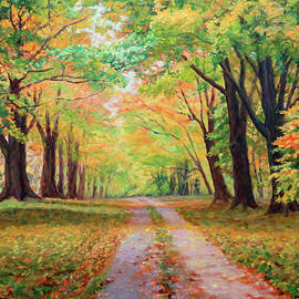 Bonnie Mason - Country Lane - A walk in Autumn